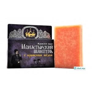 Шампунь натуральный твердый, с Крымским медом, 80г
